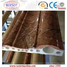 Chaîne de production décorative intérieure de bâti de PVC De Qingdao Weier