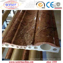 PVC Interior Decorative Moulding Production Line From Qingdao Weier