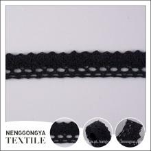 Qualidade superior Diferentes tipos de guarnição de tecido de casamento na moda