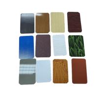 Pattern Coated Steel Sheet