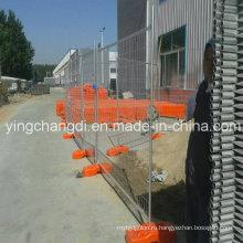 Низкий временный забор стали углерода для Сбывания фабрики (стандартный размер)