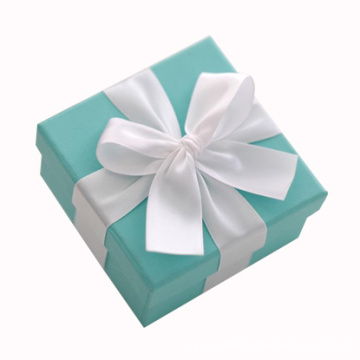 Elegant Customized Paper Gift Packaging Box with Ribbon