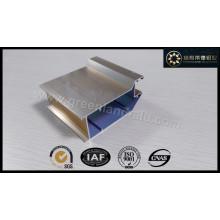 Perfil de aluminio para puerta Shampange electroforético Color Shinny