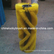 PP Material Yellow Road Sweeper Roller Brush (YY-021)