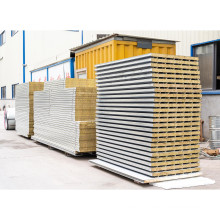 Factory Price Fireproof Insulated Rock Wool Reusable Sandwich Panel