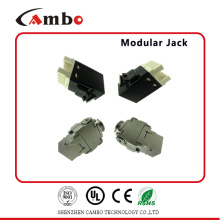 Feito na China Fácil Manejo RJ45 & RJ11 cat6 information outlet