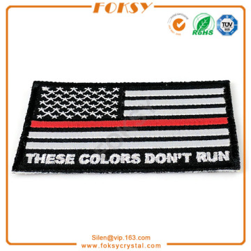 USA Flag iron patch sticker broderie