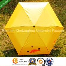 Werbe dreifache Schirme mit individuellen Logo (FU-3621B)