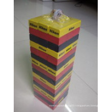 48PCS Jenga with Two Colors
