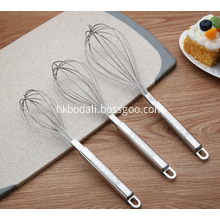 Set of 3 Stainless Steel Whisk