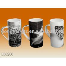 Caneca cerâmica por atacado direta dos desenhos animados da fábrica