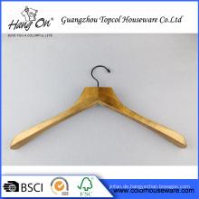 Einfache Stil guter Qualität Luxus Holz Kleiderbügel