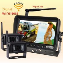 Truck Wireless Backup System with 18 Infra-Red Illuminators Camera