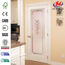 Modern Decorative Bathroom Grill Glass Interior Folding Door