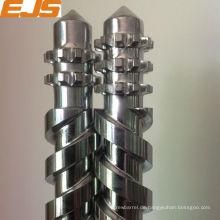 PVC verarbeitet Bimetall parallele Doppelschnecken