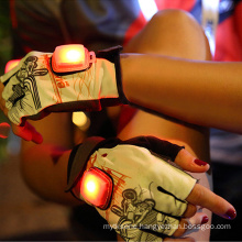 ProCircle Custom Gym Protective Flash LED Cycling Gloves