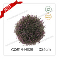 10′′ Artificial Flower Plastic Christmas Outdoor Decoration Gift