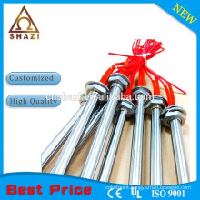 High density mgo insulated electric cartridge heater