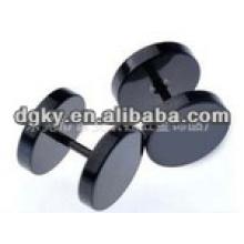 Poteaux de piercing en acier inoxydable en acier inoxydable noir