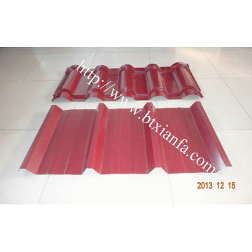 Warna Coil Atap Profil Otomatis Double Layer Machine