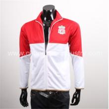 chaquetas de invierno de fútbol diseño popular con tela de algodón