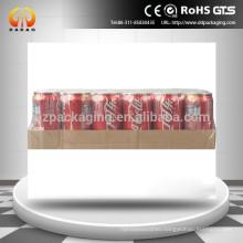 Transparent PE /poly heat shrink film for wine bottle