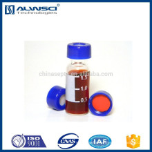 2ml Agilent autosampler vial HPLC clear vial with insert
