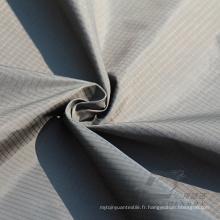 Imperméable à l'eau et à l'extérieur Vêtements de sport en plein air Veste en coton Tissu tissé et DOT Jacquard 100% Tissu en nylon (N044)