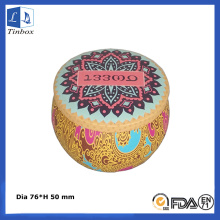 Decorative Candle Gift Tin Boxes Wholesale