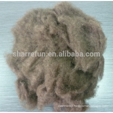 100% Chines Yak Wool Dark Brown 19.0mic/26mm