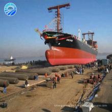 Lanzamiento y acoplamiento del vendedor de goma del airbag marino del barco de pesca