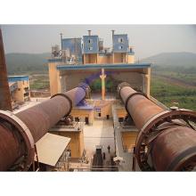 Four rotatif d'incinération concurrentielle des déchets