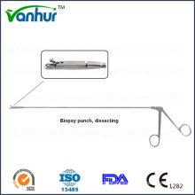 Instrumentos de Sigmoidoscópio e Rectoscopia Biopsia Punch Forceps, Dissecting