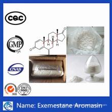 Materias Primas de Alta Calidad Antiestrogeno Esteroides Exemestane Aromasin