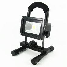 Projector recarregável exterior do diodo emissor de luz da lâmpada 10W do ponto com soquete de USB