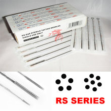 Disposable Sterilized Pre-Made Tattoo Needle Round Shader
