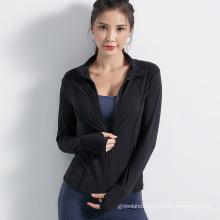 Women's Zip Up Active Yoga Gym Jacket