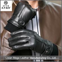 2015 neueste heiße verkaufende Chrom-freie lederne Handschuhe