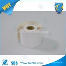 Freie Proben reiner Holz Zellstoff benutzerdefinierte Größe Papier thermische qc pass Druckbare pos thermische Papierrolle