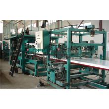 FX eps y lana de roca de acero de color sándwich panel de la máquina