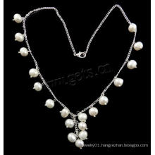 Gets.com 2015 freshwater pearl necklace gold simple