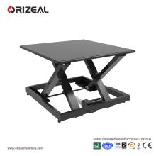 Orizeal bureau debout portable, bureau qui monte et descend, bureau réglable en hauteur électrique (OZ-OSDC009)