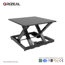 Orizeal portable standing desk, desk that moves up and down, electric height adjustable desk (OZ-OSDC009)