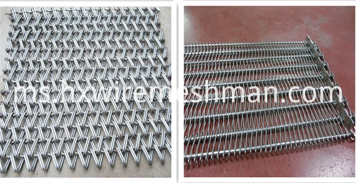 industrial wire mesh belt