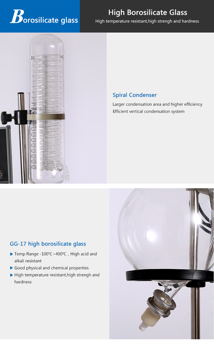 Laboratory Vacuum Rotary Evaporator For Distillation