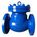 Качающийся обратный клапан с фланцевой углеродистой сталью