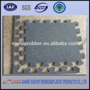 Gym Rubber Interlocking Mat Products