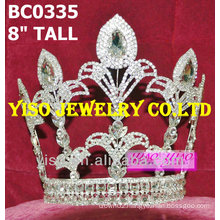 large crystal pageant crown