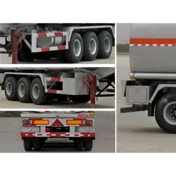 10.5m Tri-axle Flammable Liquid Tank Transport Semi-trailer