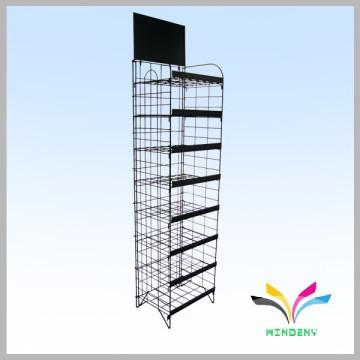 Best selling wire metal retail gondolas display rack